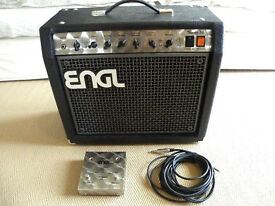 ENGL THUNDER 50 1 x 12 COMBO AMPLIFIER with footswitch