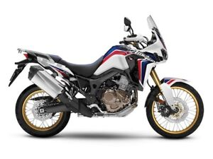 2017 Honda Africa Twin DCT CRF Rally Red or Tri Colour White / R
