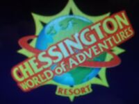Pair of Chessington World of Adventures tickets for 18th August, child or adult use