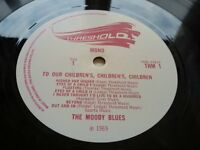 Moody Blues - To Our Childrens Childrens Children LP *MONO* UK 1st Press