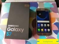Samsung galaxy S7 vodaphone box