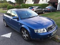 Audi A4 Quatro 1.8 turbo Petrol available for sale at cheap price £595 ONO Mil 136000