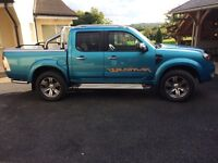 Ford Ranger. Excellent condition not a farm vehicle and no VAT! Used for social and domestic only.