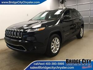 2015 Jeep Cherokee Limited- 4x4, Leather, Heated seats