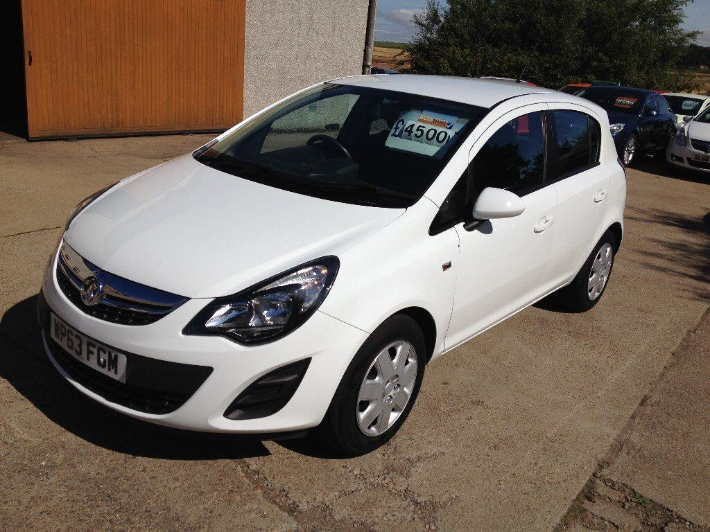 63 Plate Vauxhall Corsa 1 3 Cdti Exclusive A C 5dr Eco Flex 30road Tax 65 Mpg 65000miles 4500