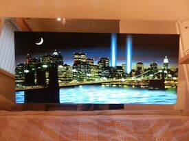 New York Brooklyn Bridge, LIGHT & WATER SOUND picture. ONLY £30