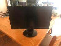 """27"""" 1140p monitor, and 22"""" 1080p monitor"""