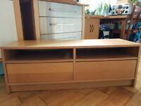 IKEA TV Stand in oak, beech colour - lovely item