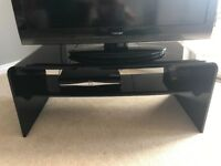 Hygena High gloss TV stand