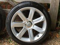 "Genuine Audi TT Mk2 18"" Alloy Wheels with Audi Centre Caps"