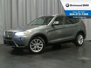 2014 BMW X3 xDrive28i Navigation & Premium Package!