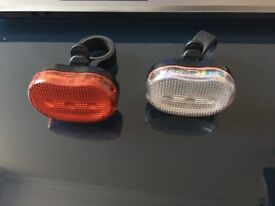 Bicycle lights in a good condition