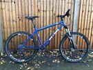 """On One 456 Blue Steel Mountain Bike 26"""" Wheels"""