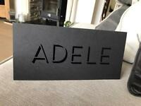 Adele standing ticket Wembley arena Saturday 1st July 2017