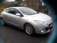 2012 RENAULT MEGANE coupe 1.5 dCi 90 Expression+ GBP20 Tax 1 pre Owner 2 keys