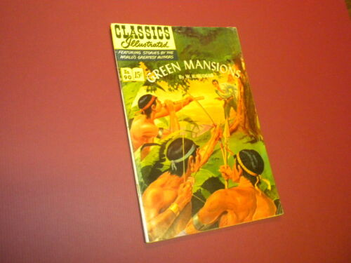 CLASSICS ILLUSTRATED #90 - GREEN MANSIONS - HRN #89