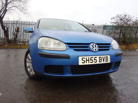 55 VOLKSWAGEN GOLF TDI 1.9 DIESEL,MOT DEC 018,2 OWNERS FROM NEW,PART HISTORY,VERY RELIABLE TRANSPORT