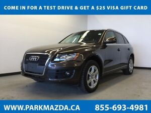 2011 Audi Q5, Remote Start, Heated Leather Interior, Dual Zone C