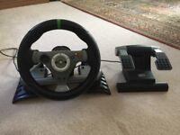 Madcatz Racing wheels XBox