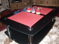 glass furniture to match