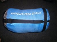 sleeping bag eurohike adventurer 200w