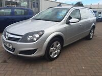 2008 (08) VAUXHALL ASTRA CREW VAN FROM NEW 5 SEATER IDEAL FOR WORK OUR FAMILY READY TO DRIVE AWAY!