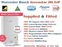 Worcester Bosch Greenstar 30i Series ErP Combi Boiler SUPPLIED and FITTED *07861758762*