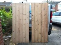 reclaimed rustic stripped ledge and brace pine doors