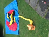 Little Tikes Bouncer and Slide - perfect condition - Blower needs to be bought apart