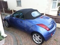 Ford Ka Convertible Very Low Mileage F-S-H Very Clean