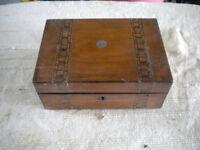 Wooden inlay box