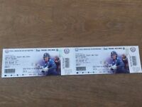 LESS THAN FACE VALUE England West Indies Cricket Tickets Oval 27th Sept