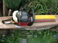 Homelite Might Lite Petrol Hedge Trimmers with Wide Blade! Great Condition