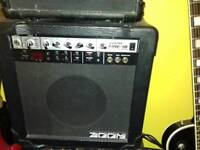 zoom fire 15 guitar amp
