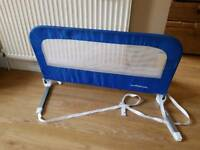 Mothercare bed guard. Excellent condition from a pet and smoke free home. Baby bed rail guard