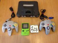 Faulty Nintendo bundle , n64 , gameboy