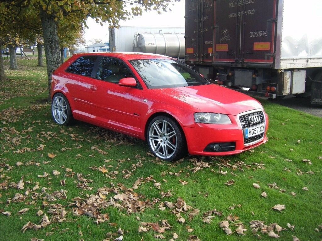 2008 audi a3 s line 2.0 tdi silver edition full leather interior 19 inch alloys etc smart car may px