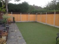 £70 a bay or £350 for 5 Bays or £675 for 10 bays Fence(NO DEPOSIT TAKEN); Random slab speacial offer