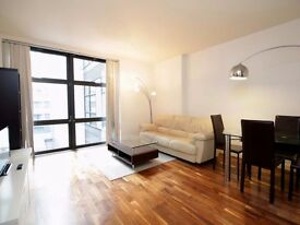 **Beautiful serviced 2 bedroom Canary Wharf with all bills, wifi, maid service included. Book now!