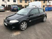 RENAULT MEGANE 225 2.0 TURBO YEARS MOT NEW CLUTCH AND DUAL MASS FLY WHEEL MAY/SWAP/PX