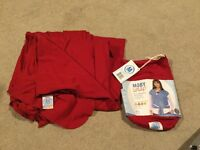 Moby wrap - red