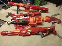 Range of nerf guns