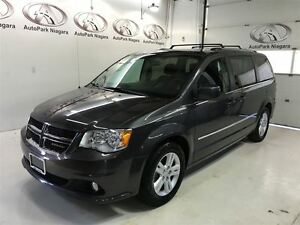 2016 Dodge Grand Caravan Crew / STOW N GO / HEATED MIRRORS / ALL