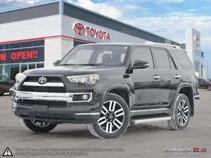 2017 Toyota 4Runner LIMITED - TOYOTA CERTIFIED PRE OWNED