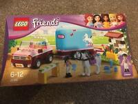 Lego friends horse trailer