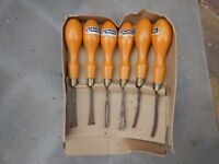 Sorby Wood Carving Chisel Set