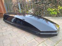 Exodus 360L Roof Box Gloss Black