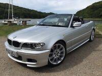 Stunning 55 plate BMW 330cd m sport six speed turbo diesel Fsh Full Mot Faultless