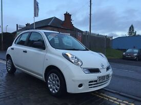 NISSAN MICRA 1.2 VISIA, 59 PLATE 2009....THE RIGHT COLOUR...5 DOOR RELIABLE FAMILY CAR...F.S.H...