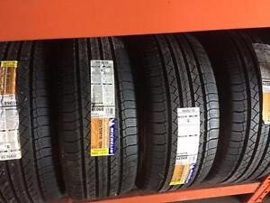 255/55R18 NEW MICHELIN LATITUDE 109V SET OF 4, FREE INSTALATION AND BALANCE